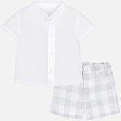 Mayoral Baby Boy Shirt & Short Set