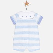 Mayoral Baby Boy Striped Short Romper