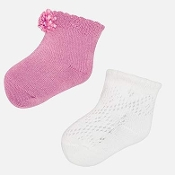 Mayoral Baby girl Tricot Sock Set