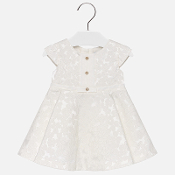 Mayoral Baby girl Jacquard dress