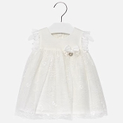 Mayoral Girls Lace Dress