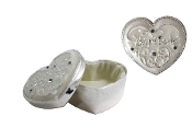 Heart Baptism Trinket Box