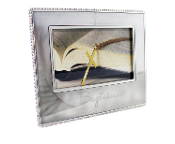 6x4 Metal Baptism Frame with Cross