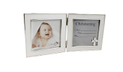 4x4 Folding Double Christening Frame