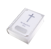 Baptism Bible Trinket Box