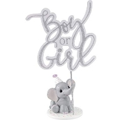 4pc Set Precious Moments Elephant Gender Reveal