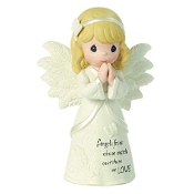 Angel Praying- Girl - Precious Moments