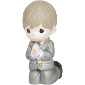 P.Moment Communion Boy Kneeling Figure