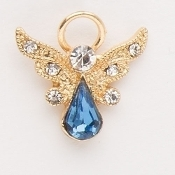 December Guardian Angel Pin