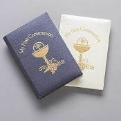 "5"" Communion Book with Chalice"