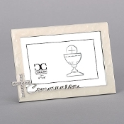 4x6 Communion Frame w/Rhinestone Cross