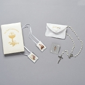 St.Joseph Deluxe First Communion Gift Set