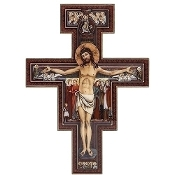"11.75"" San Damiano Wall Cross"