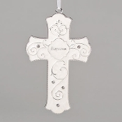 "7.25"" Baptism Wall Cross"
