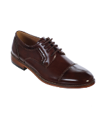 Boys Brown Lace Up Shoe