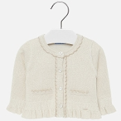 Mayoral Gold Knitted Cardigan