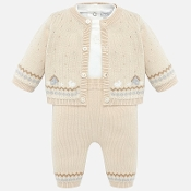 Mayoral Baby Boy Knit Set