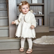 Mayoral Baby girl Tricot/Tulle Dress