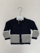 EMC Navy/Grey Cardigan