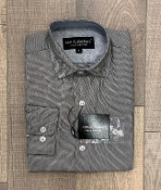 Leo & Zachary Marino Basket Weave L/S Dress Shirt
