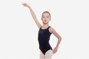 "Sansha ""Cipriana"" Black Design Leotard"