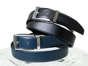 Leo & Zachary Reversible Leather Belt