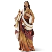 "6.25"" Sacred Heart of Jesus Statue"