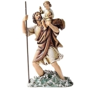 "6.25"" St. Christopher Statue"