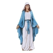 "4"" Our Lady of Grace Statue"