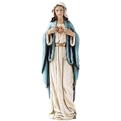 "6"" Immaculate Heart of Mary Statue"