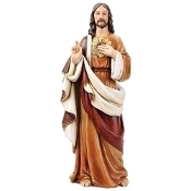"24"" Sacred Heart of Jesus Statue"