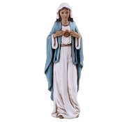 "4"" Immaculate Heart of Mary Statue"