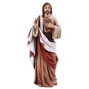 "4"" Sacred Heart of Jesus Statue"