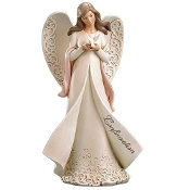 "9"" Confirmation Angel Holding Dove"