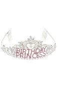 Rhinestone Birthday Princess Tiara