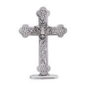Pewter Standing Confirmed in Christ Cross