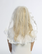 Girls Mantilla Veil