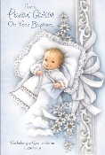 GREETING CARD - Godson Baptism