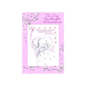 GREETING CARD - Granddaughter Baptism