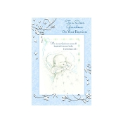 GREETING CARD - Grandson Baptism