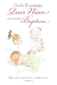GREETING CARD - Niece Baptism
