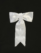 First Communion Armband with Embroidered Cross & Chalice