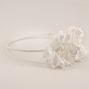 The Verity Lace Flower Headband