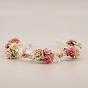 The Serenity Flower Headband