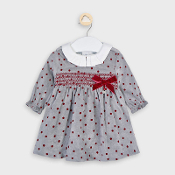 Mayoral Baby Girl Patterned Corduroy Dress